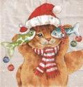 5枚組ペーパーナプキン*Cats Koi