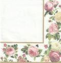5枚組ペーパーナプキン*Rosy Frame