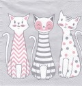 5枚組ペーパーナプキン*Glam Cats