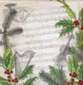 5枚組ペーパーナプキン*Christmas Song