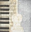 5枚組ペーパーナプキン*Music is Life