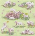 5枚組ペーパーナプキン*子羊