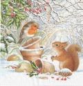 5枚組ペーパーナプキン*Winter Picture