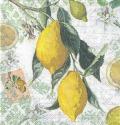 5枚組ペーパーナプキン*レモン【B】