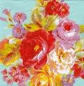 5枚組ペーパーナプキン*Painted Roses