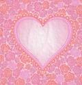 5枚組ペーパーナプキン*ロマンチックハート