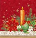5枚組ペーパーナプキン*クラシカルクリスマス