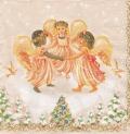 5枚組ペーパーナプキン*Dancing Angels