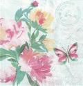 5枚組ペーパーナプキン*水彩ピンク