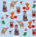 5枚組ペーパーナプキン*Animals in the Snow