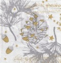 5枚組ペーパーナプキン*Golden Nature