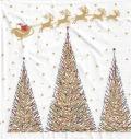 5枚組ペーパーナプキン*Joyeux Noel