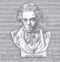 5枚組ペーパーナプキン*ベートーベン
