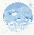 5枚組ペーパーナプキン*Winter View