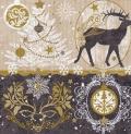 5枚組ペーパーナプキン*Royal Deer