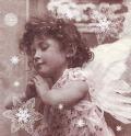 5枚組ペーパーナプキン*天使の祈り【B】