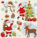 5枚組ペーパーナプキン*クリスマス準備