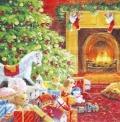 5枚組ペーパーナプキン*Christmas Eve【B】