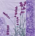5枚組ペーパーナプキン*Scent of Lavender