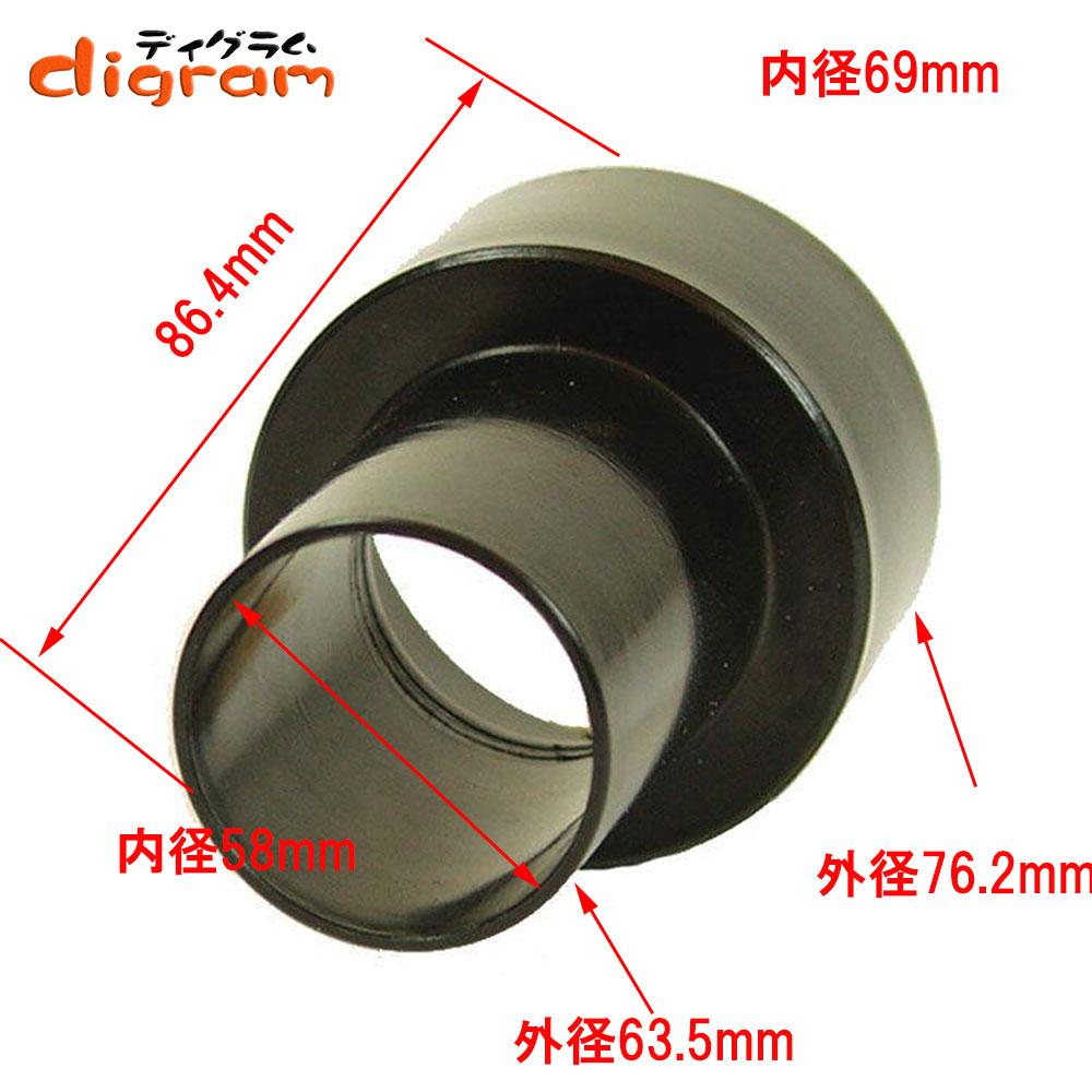 集塵用ジョイントアダプター76.2mmx63.5mm