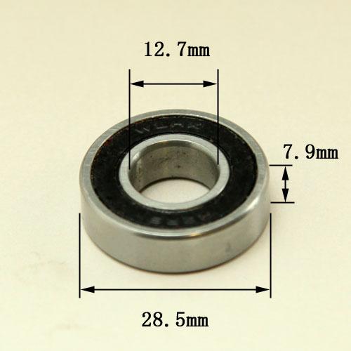 ベアリング12.7mm軸専用(外径28.5mmx内径12.7mm)