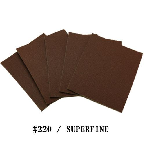 スポンジ研磨材 #220/SUPERFINE 5枚