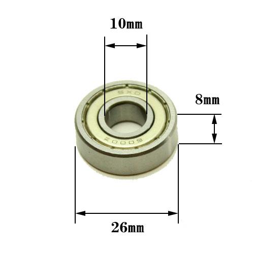 ☆ルーター用・ベアリング外径26mm、内径10mm