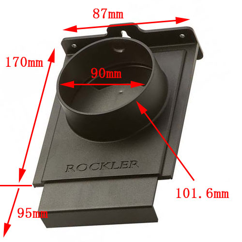 集塵用開閉ゲート 101.6mm