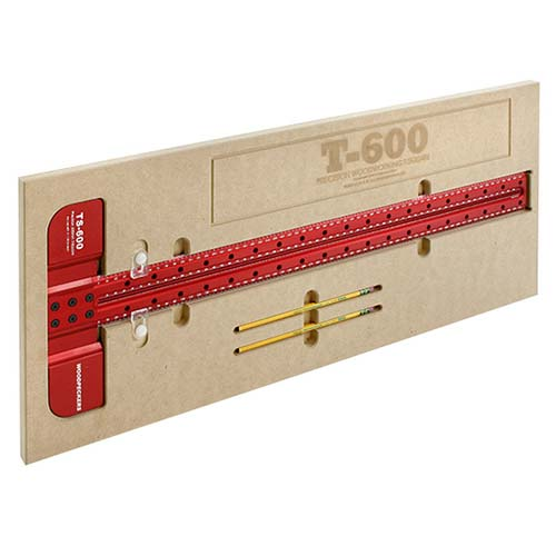 ウッドペッカーT型定規 600cm