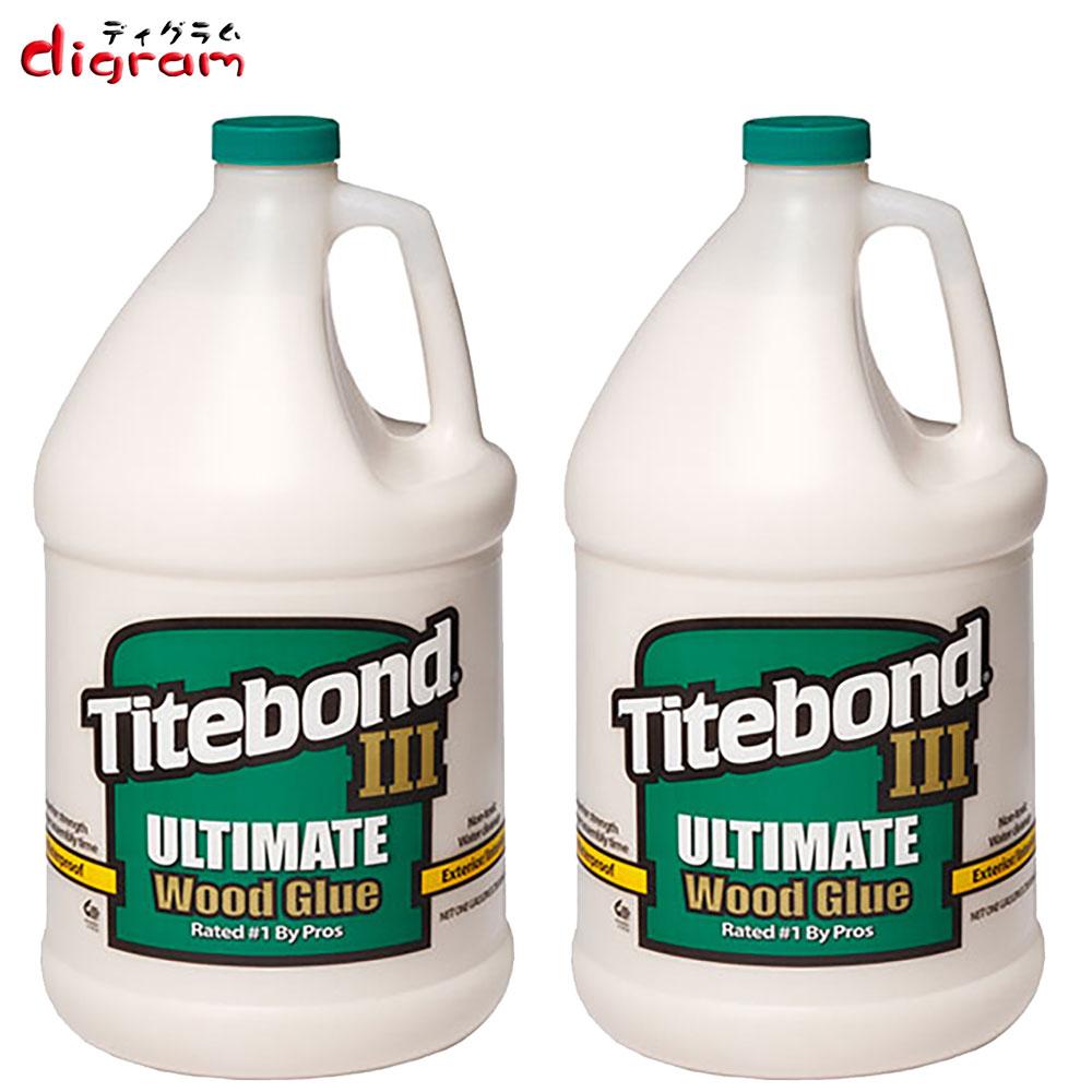 タイトボンド3アルティメット木工用接着剤(1ガロン)1本