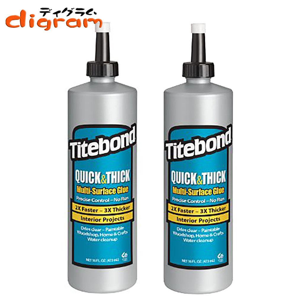 タイトボンド・クイック&シック多用途接着剤