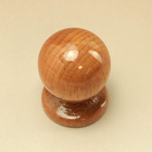 木製 取っ手 つまみ ウッド マッシュ ・ ノブ ( ケヤキ )【GW0022】 1個