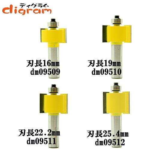 ルーター ビット ラベット スペシャル 4組 セット 1/2軸 Microtungsten carbide 【dms09503】