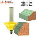ルーター ビット ダブル ロマン 1/2軸 ( 刃径 38mm ) Microtungsten carbide 【dm01205】