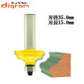 ルーター ビット オージー フルート 1/2軸 ( 刃径 35mm ) Microtungsten carbide 【dm01206】