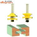 ルーター ビット レール & スタイル セット ( トラディッショナル オージー ) 1/2軸 Microtungsten carbide 【dm06005】