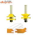 ルーター ビット レール &  スタイル セット ( クォーター ビート ) 1/2軸 Microtungsten carbide 【dm06006】