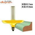 ルーター ビット トラディッショナル フォミング テーブル エッジ 1/2軸 Microtungsten carbide 【dm07301】