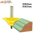 ルーター ビット フレンチ バロック テーブル エッジ 1/2軸 Microtungsten carbide 【dm07306】