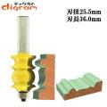 ルーター ビット フェイスモールディング カッター ( ビンテージ ) 1/2軸 Microtungsten carbide 【dm08005】