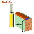 ルーター ビット トップベアリング パターンビット 1/2軸 ( 刃径 19mm ) Microtungsten carbide 【dm09407】