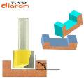 ルーター ビット ボトム ブランジ 機能 1/2軸 Microtungsten carbide 【dm10004】