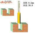 トリマー ビット ストレート 1/4軸 ( 刃径 9.5mm ) Microtungsten carbide 【dm12704】