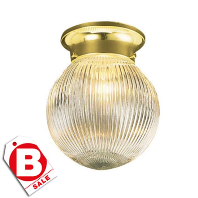 B級品ミルブリッジ PB1灯シーリングライト/ボール