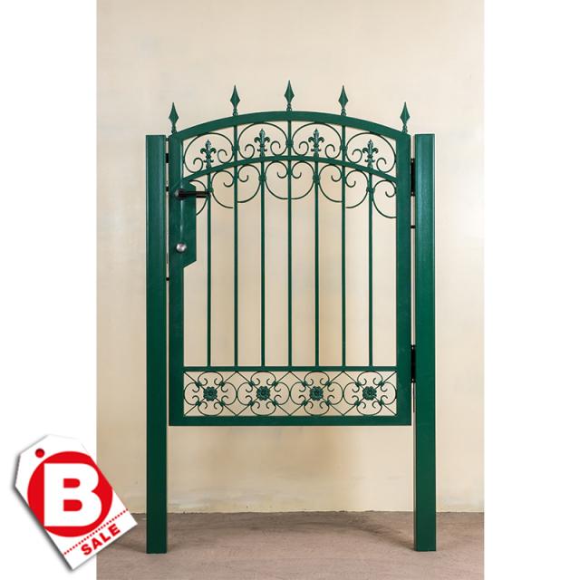 B級品ロートアイアン製門扉/内開きタイプ|電気錠組込み