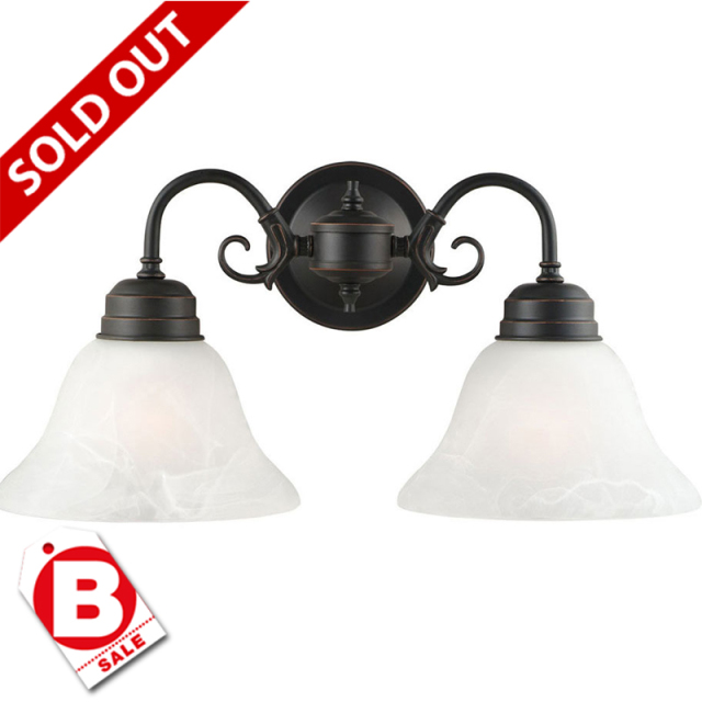 B級品ミルブリッジ  NEW ORB2灯ウォールライト|ブラケット