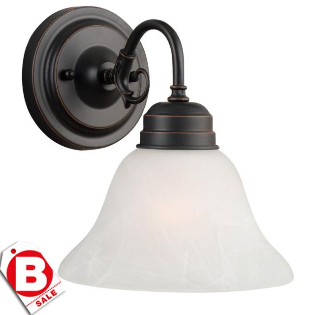 【訳アリ】ミルブリッジ  NEW ORB1灯ウォールライト|ブラケット