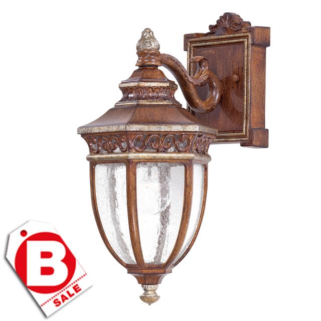 【1月限定10%OFF 】B級品キャッスルリッジ1灯アウトドアライト・玄関照明/ダウン型
