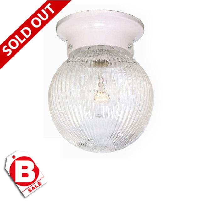B級品アルブス1灯シーリングライト/ボール