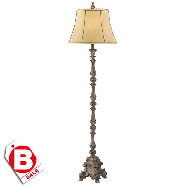 B級品フレンチパラッツォ1灯フロアランプ/床置型